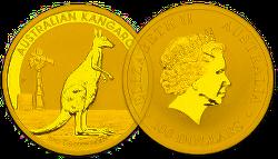 Goldmünze Australian Nugget